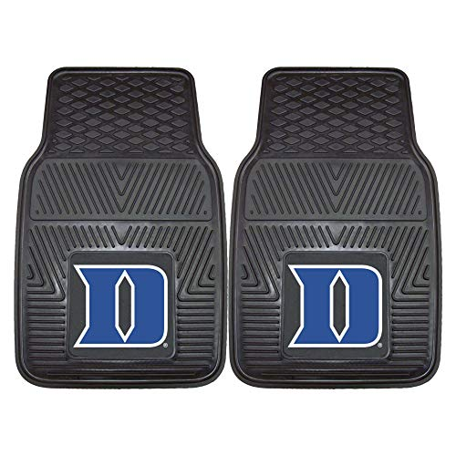 Duke University Heavy Duty Vinyl Car Floor Mats (Set of 2)