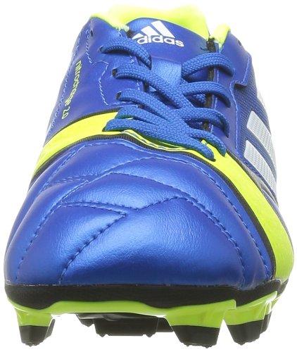 adidas Ntrocharge 2.0 Trx Fg J - Botas de Fútbol de material sintético niño Bleu (Blue/Electricty/Blanc)