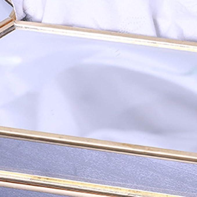 Copertura Kleenex Portatovaglioli Legno Dispenser Viso for Home Office Car Holder Escursioni Storage Box Contenitore E Uso Ufficio Size : Medium GUOJINE Tessuto Cuoio Titolari di Sicurezza