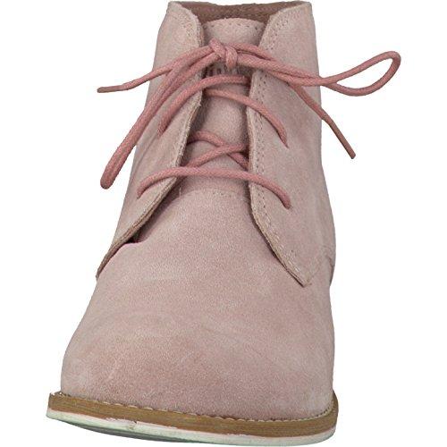 s.Oliver - botas estilo motero Mujer Old Rose