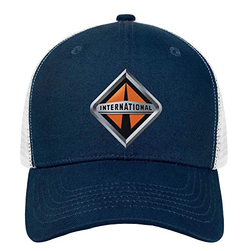 Unisex Mens Baseball Hats Cute Adjustable Mesh Sun-Navistar-International-Flat ()