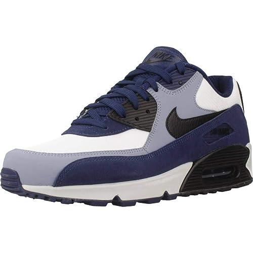 Nike Air MAX 90 Leather, Zapatillas de Gimnasia para Hombre