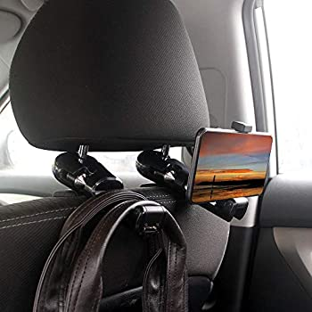 Interior Accessories 2019 Latest Design Car Chair Back Hook Vehicle Storage Holder Auto Seat Rear Hook For Car Long Handle Double Hook Car Accessories