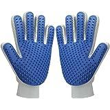 MUDEELA Pet Hair Remover Glove, Magic Pet Grooming Glove...