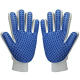 Pet Hair Remover Glove - Magic Pet Grooming...