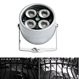 FidgetFidget 4 LED Infrared Night IR Vision Light illuminator Lamp For IP CCTV CCD Camera New