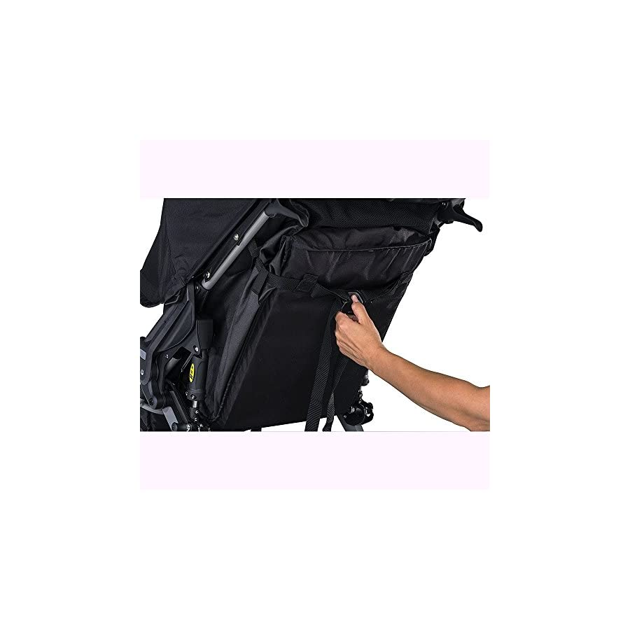 BOB Rambler Jogging Stroller Black with Handlebar Console