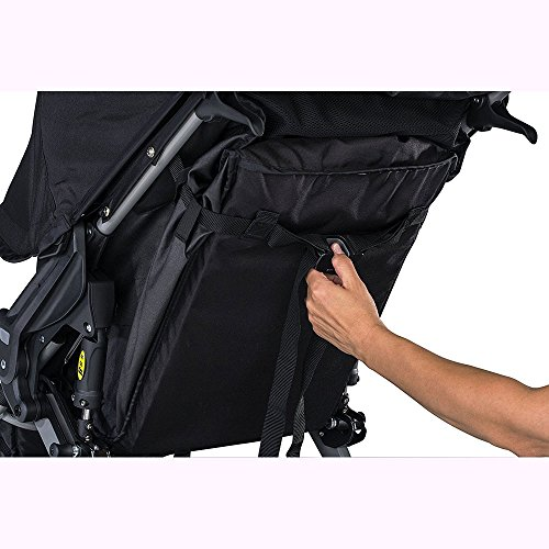 BOB Rambler Jogging Stroller - Black with FREE Diaper Bag by BOB (Image #4)