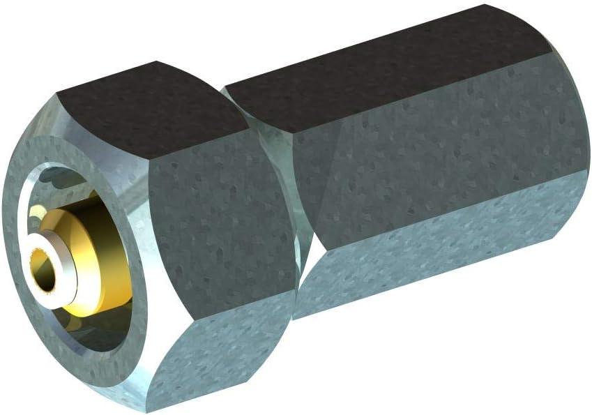 HTD Gewindeadapter 300 bar W30 Innen Sauerstoff//Helium auf G5//8 300 bar Innengewinde