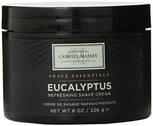 - Caswell-Massey Eucalyptus Soothing Shave Cream - All Natural Shaving Cream Made In USA - 8 Oz Jar