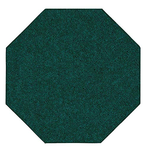 Amazon Com Bright House Solid Color Area Rugs Forest