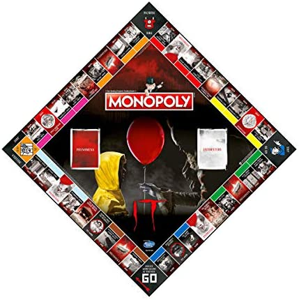 Monopoly WM00732-EN1-6 Stephen King's Board Game from Ages 17 and Up