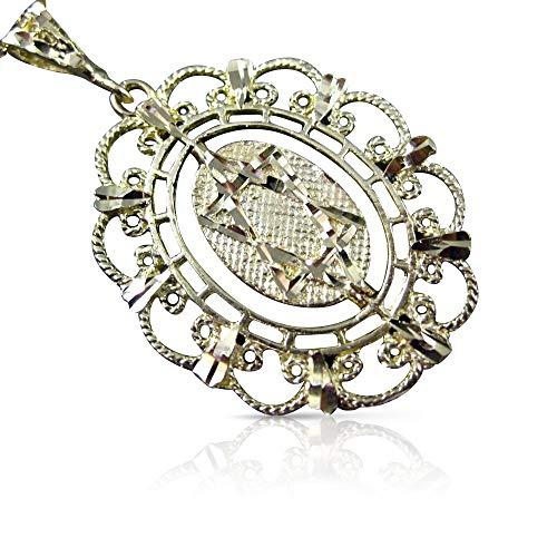 Milano Jewelers Large 14KT Yellow Gold Reversible Star of David & Menorah Pendant #19354 ()