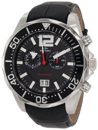 Rotary Men's AGS90050/C/04 Aquaspeed Sports Chronograph Strap Swiss-Made Watch