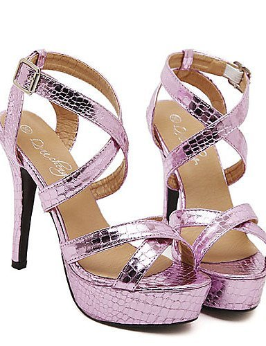 Dress Silver Open Heel Toe ShangYi Colors Women's More Stiletto Shoes Sandals available BgPZq0