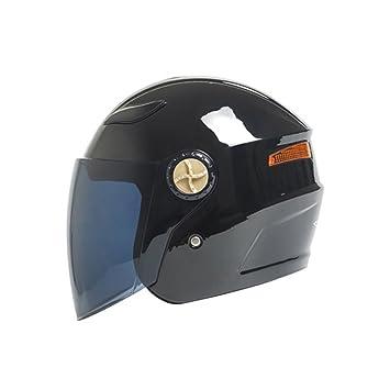 Casco semicubierto de locomotora casco de carreras cuatro estaciones casco de niebla para hombre y mujer