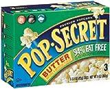 Pop Secret 94% Fat Free Butter 3 pk Microwave Popcorn 9 oz 3 Boxes