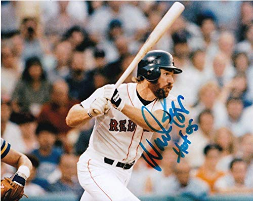 Wade Boggs Autographed Photo - HOF 05 8x10 - Autographed MLB Photos