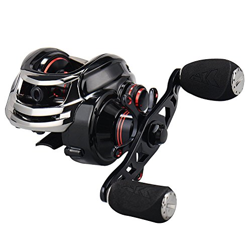 KastKing Royale Legend High Speed Profile Baitcasting Fishing Reel - Left Handed Fishing Reels
