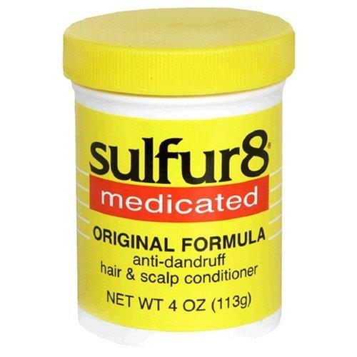 - J. Strickland & Co. Sulfur8 Medicated Anti-Dandruff Hair & Scalp Conditioner, Original Formula, 4-Ounce Bottle (Pack of 3)