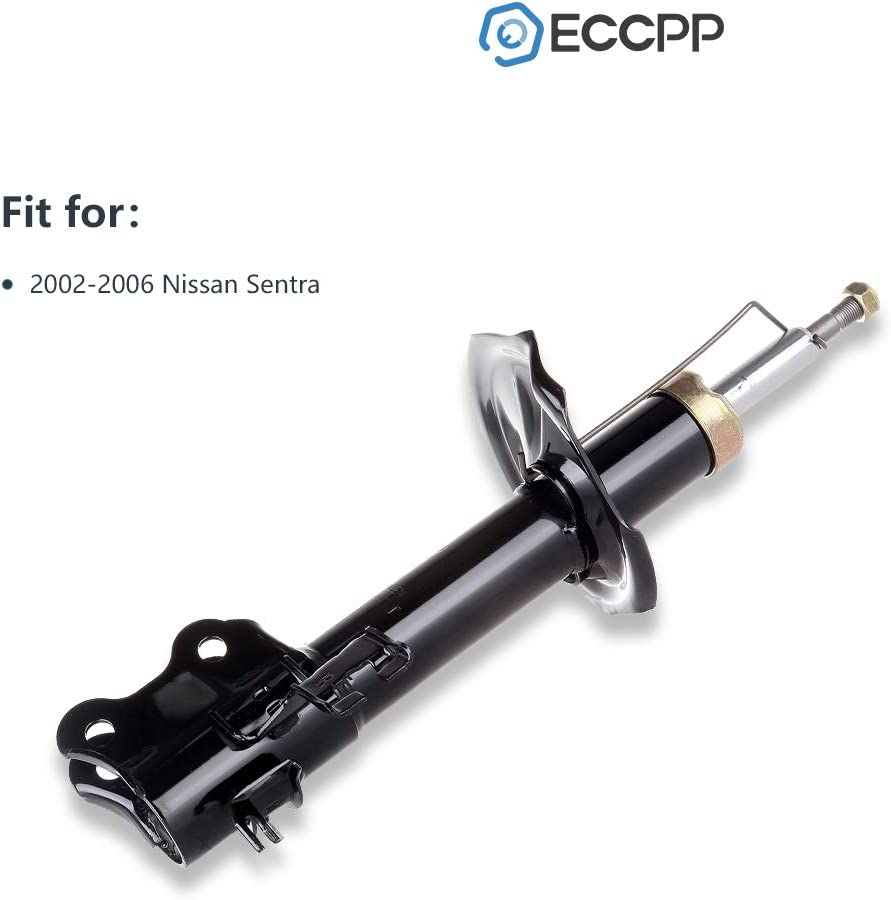 Shocks Struts,ECCPP Front Pair Shock Absorbers Strut Kits Compatible with 2002 2003 2004 2005 2006 Nissan Sentra 333310 333311 72105 72106