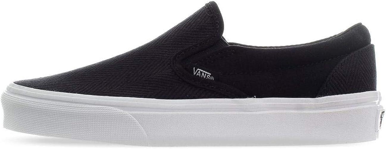 Vans Classic Slip-ON (Herringbone) Black/True White