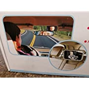 Backseat Baby Safety Mirror| Keep your baby in safe view while driving. No need to turn your head and see your baby as there is no obstruction to rear view visibility. Easy to fit any car, installs in