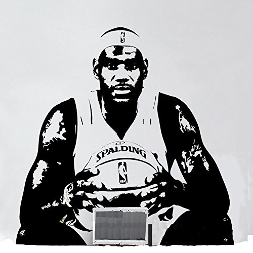 Cheap  Fangeplus(R) DIY Removable LeBron Raymone James NBA Basketball Player Star Art Mural..