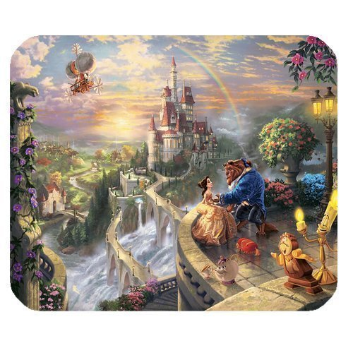 ROBIN YAM Personalized Disney Princess Rectangle Non-Slip Rubber Mousepad Gaming Mouse Pad -RYMP16183