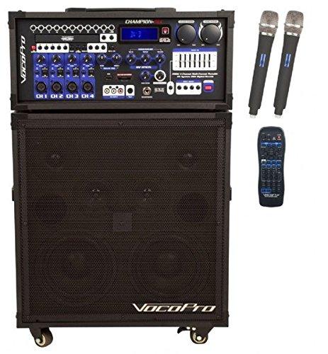 VocoPro CHAMPION-REC-6 Portable Karaoke System by VocoPro