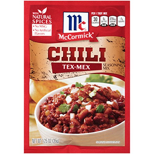 McCormick Tex Mex Chili Seasoning Mix, 1.25 - Tex Chili Mex