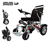 Porto Mobility Ranger D09, No.1 Best Rated Exclusive Portable Power Wheelchair, Lightweight, Foldable, Heavy Duty, Dual Battery, Dual Motor Electric Wheelchair - 18.5
