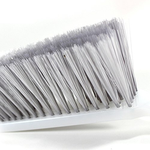 Dusting Cleaning Brush Soft Long Bristle Wood Handle Hotel Family Clothes Dust Hair Sofa Bed Carpet by B.Russ