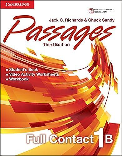 Passages Level 1 Full Contact B: Jack C. Richards, Chuck Sandy ...
