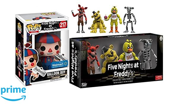 Balloon Boy #217 & Five Nights at Freddys Action Figures 2