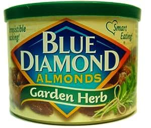 Blue Diamond Garden Herb Almonds 6oz 3pack