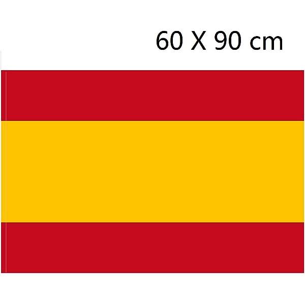 AZ FLAG Bandera de la RESTAURACIÓN BORBÓNICA EN ESPAÑA 1785-1931 45x30cm - BANDERINA ESPAÑOLA Antigua 30 x 45 cm cordeles: Amazon.es: Hogar