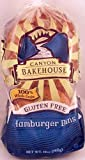 CANYON BAKEHOUSE Buns Hamburger Wholegrain Gluten Free, 12 oz