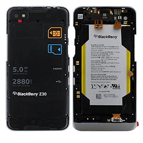 - ChYu For Blackberry Battery Housing Case Bat-50136-101 Bat-50136-003 Z30 Battery & Middle Frame Housing Assembly