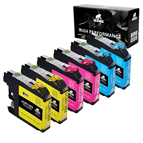 Color Pack Compatible Ink Cartridge Replacement for Brother 203 203XL Works with Brother MFC-J4320DW MFC-J4420DW MFC-J4620DW MFC-J5520DW MFC-J5620DW MFC-J5720DW MFC-J480DW J485DW J460DW J880DW J680DW ()