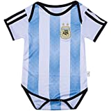 Argentina National Bodysuits Onesize For 9-18 Months Baby Suit Blue/White