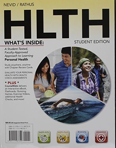 Bundle: HLTH (with Health CourseMate with eBook Printed Access Card) + Global Health Watch Printed Access Card -  Rathus, Spencer A., Display