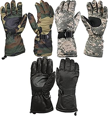BUNITA,Deluxe Thermoblock Cold Weather Long Cuff Insulated Gloves,Gloves Extreme Cold