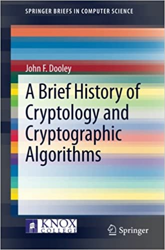 A Brief History of Cryptology and Cryptographic Algorithms (SpringerBriefs in Computer Science)