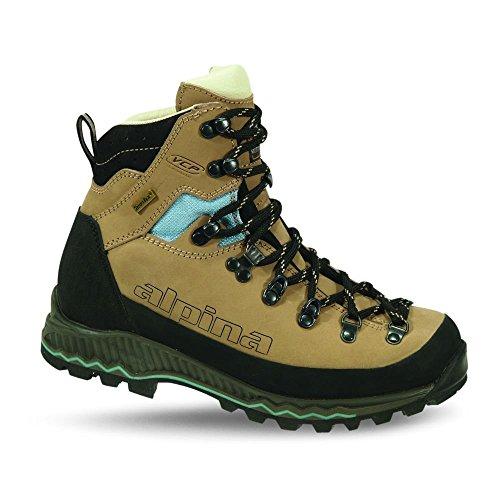 Alpina Népal Lady, Chaussures de trekking et randonnée femme, beige, taille 41