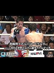 宮崎亮×カルロス・ベラルデ WBA世界ミニマム級タイトルマッチ