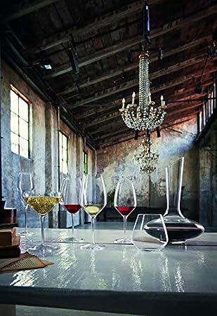 Bormioli Luigi Atelier Juego Copas para Riesling, Vidrio, Transparente, 44 cl, 6 Piezas