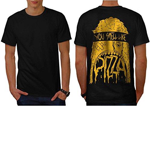Zombie Pizza Monster Fast Food Men NEW XXXXXL T-shirt Back | Wellcoda (Zombie Pizza)