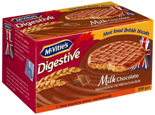 McVitie's Digestive Milk Chocolate 200 g, 5er Pack (5 x 200 g)