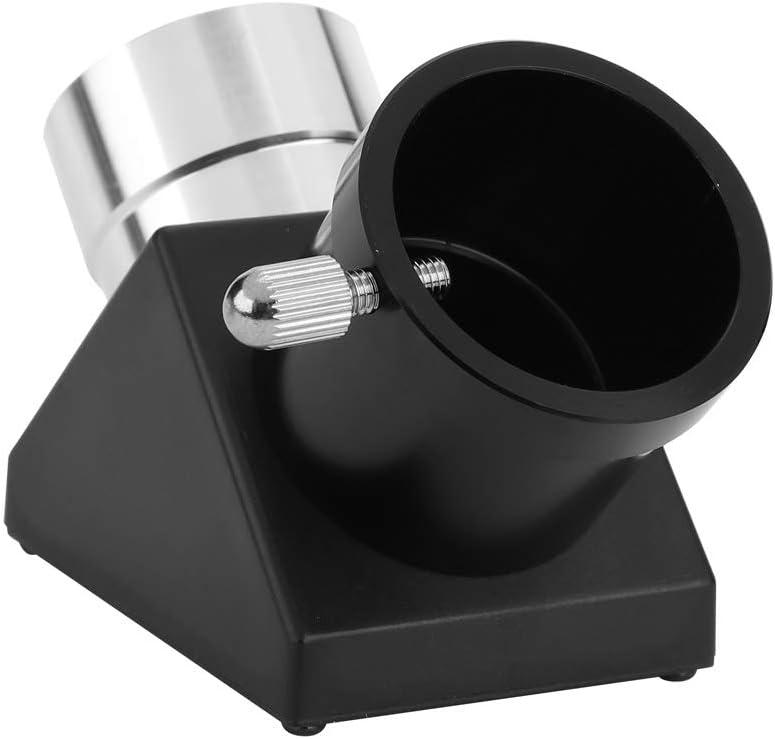 90 Grados Adaptador Diagonal Erecci/ón de Imagen Prisma Zenith Espejo para telescopio 1.25Telescopio Espejo erigido